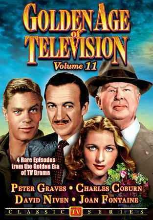 GOLDEN AGE OF TELEVISION - Golden Age Of Television Vol. 11: Trudy/The Major Of St. Lo/The Difficult Age/Tusitala (Not Rated)