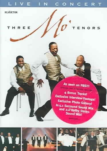 Three Mo' Tenors: Live in Concert (DVD)