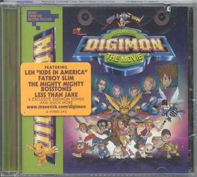 Various - Digimon:The Movie-Music from