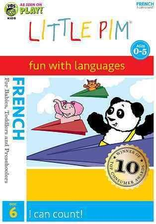French Little Pim: I Can Count (Disc 6) (DVD)
