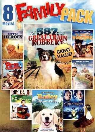 8-Movie Family Pack: Vol. 2 (DVD)