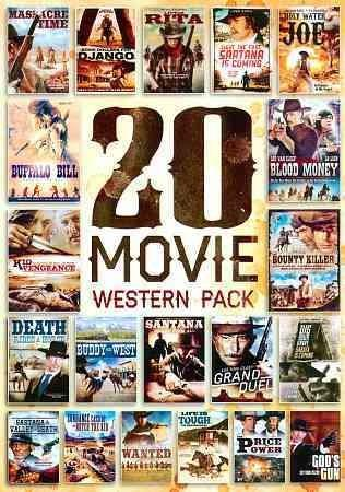20-Film Western Pack (DVD)