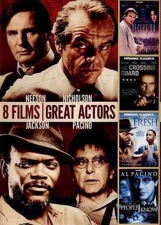 8-Film Collection: Great Actors (DVD)