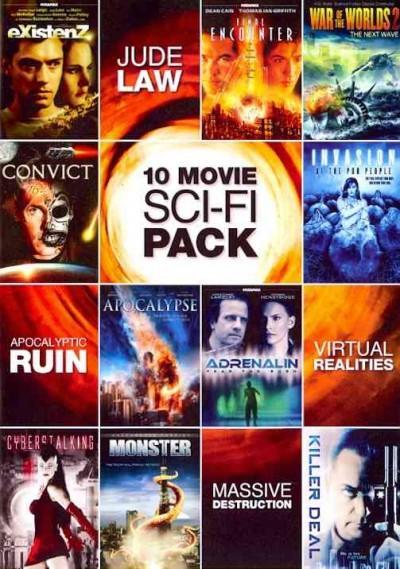 10-Movie Sci-Fi Pack (DVD)