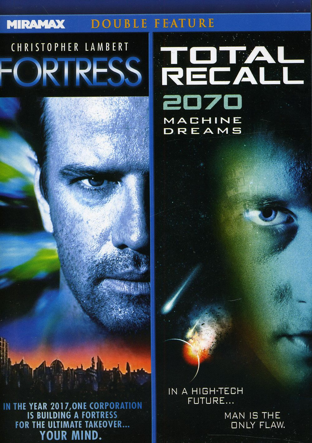 Fortress/Total Recall 2070 (DVD)
