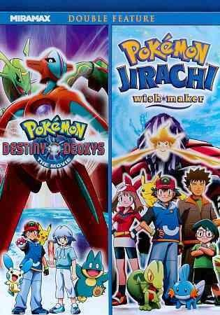 Pokemon: Destiny Deoxys/Jirachi Wish Maker (DVD)