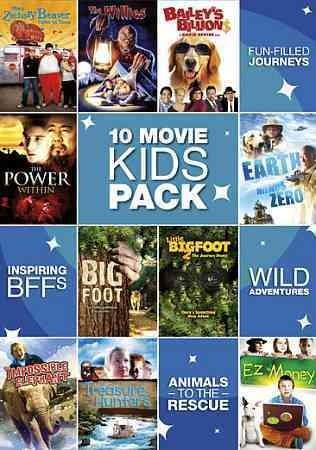 10 Movie Kids Pack (DVD)
