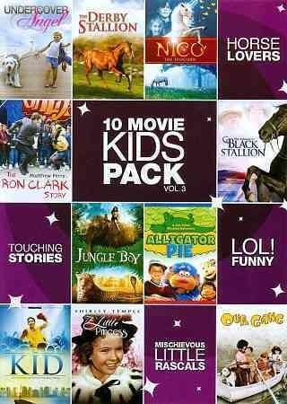 10-Movie Kid's Pack Vol. 3 (DVD)