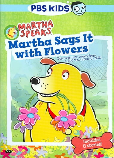 Martha Speaks: Martha Says It With Flowers (DVD)