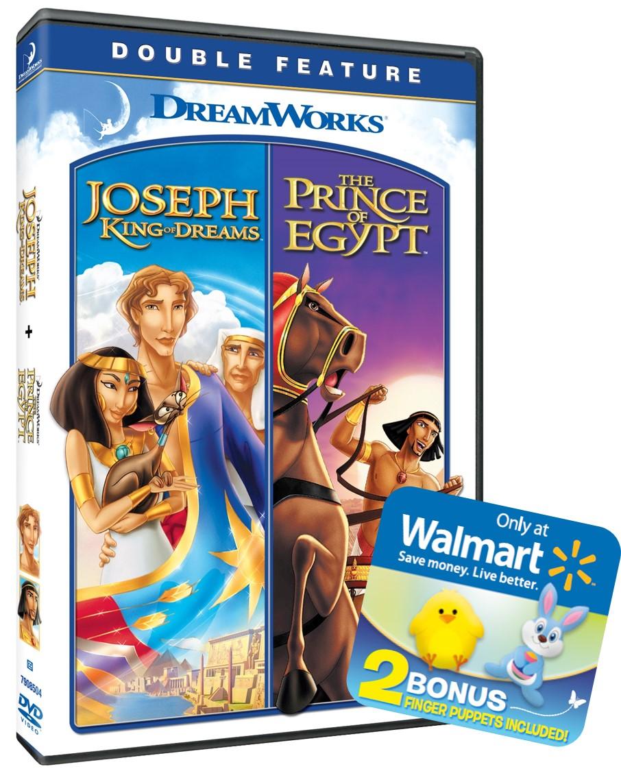 Prince Of Egypt/Joseph King Of Dreams (DVD)