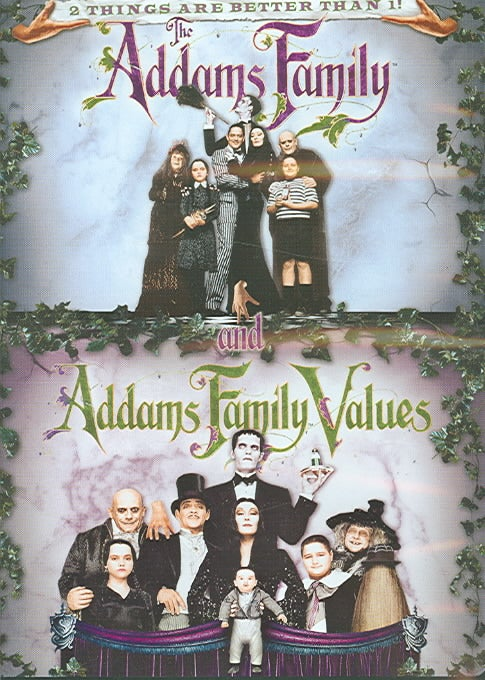 The Addams Family/Addams Family Values: Double Feature (DVD)