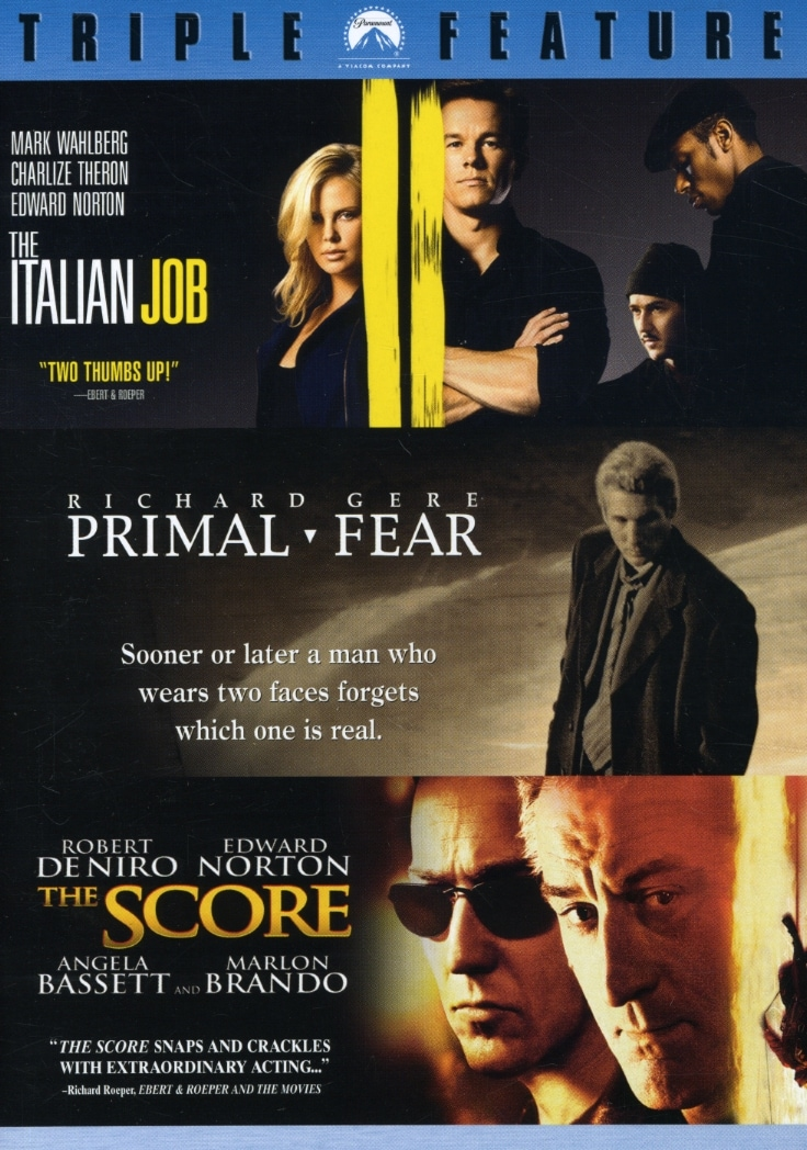 The Italian Job/Primal Fear/The Score (DVD)