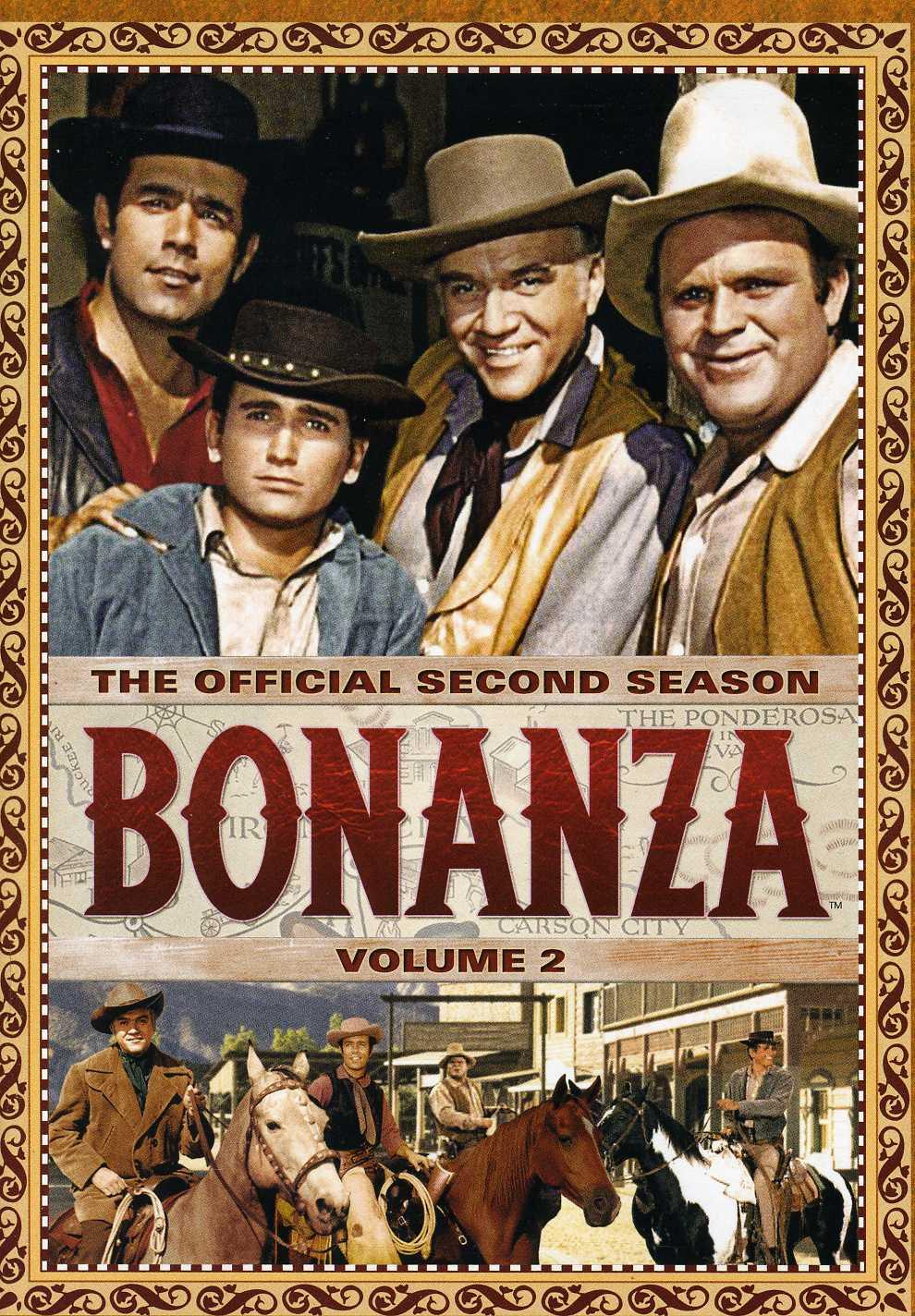 Bonanza: The Official Second Season Vol. 2 (DVD)