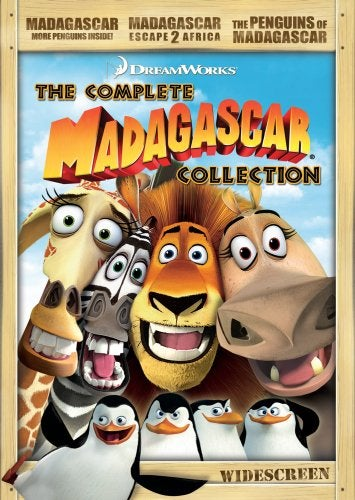 Madagascar The Complete Collection (DVD)