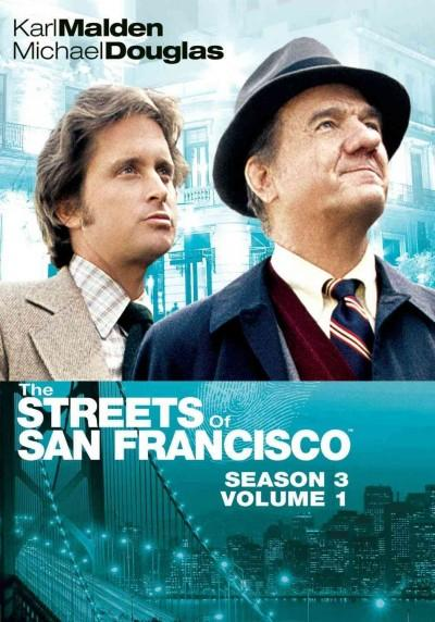 The Streets Of San Francisco: Season 3 Vol. 1 (DVD)