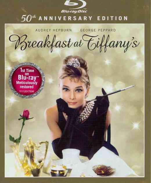 Breakfast At Tiffany's(Blu-ray Hi-Def DVD)