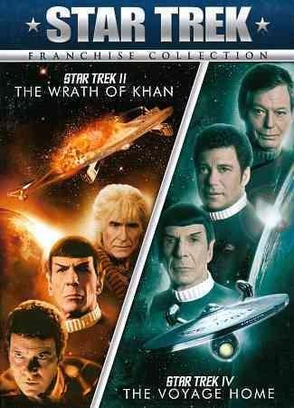 Star Trek II: The Wrath Of Khan/Star Trek IV: The Voyage Home (DVD)