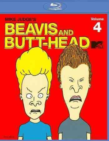 Beavis & Butt-Head: The Mike Judge Collection Vol. 4 (Blu-ray Disc)