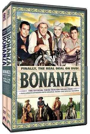 Bonanza: The Official Third Season (DVD)