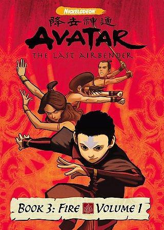 Avatar: The Last Airbender Book 3 - Fire Vol. 1 (DVD)