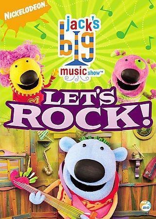Jack's Big Music Show: Let's Rock! (DVD)