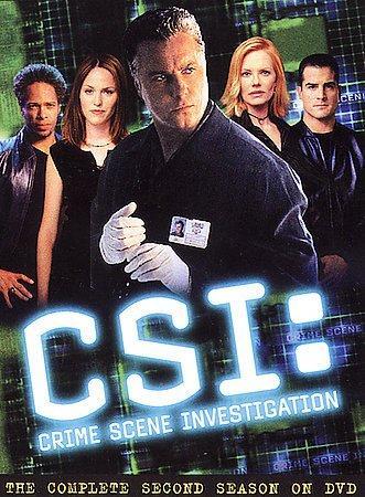 CSI: Crime Scene Investigation:  Complete Second Season (DVD)