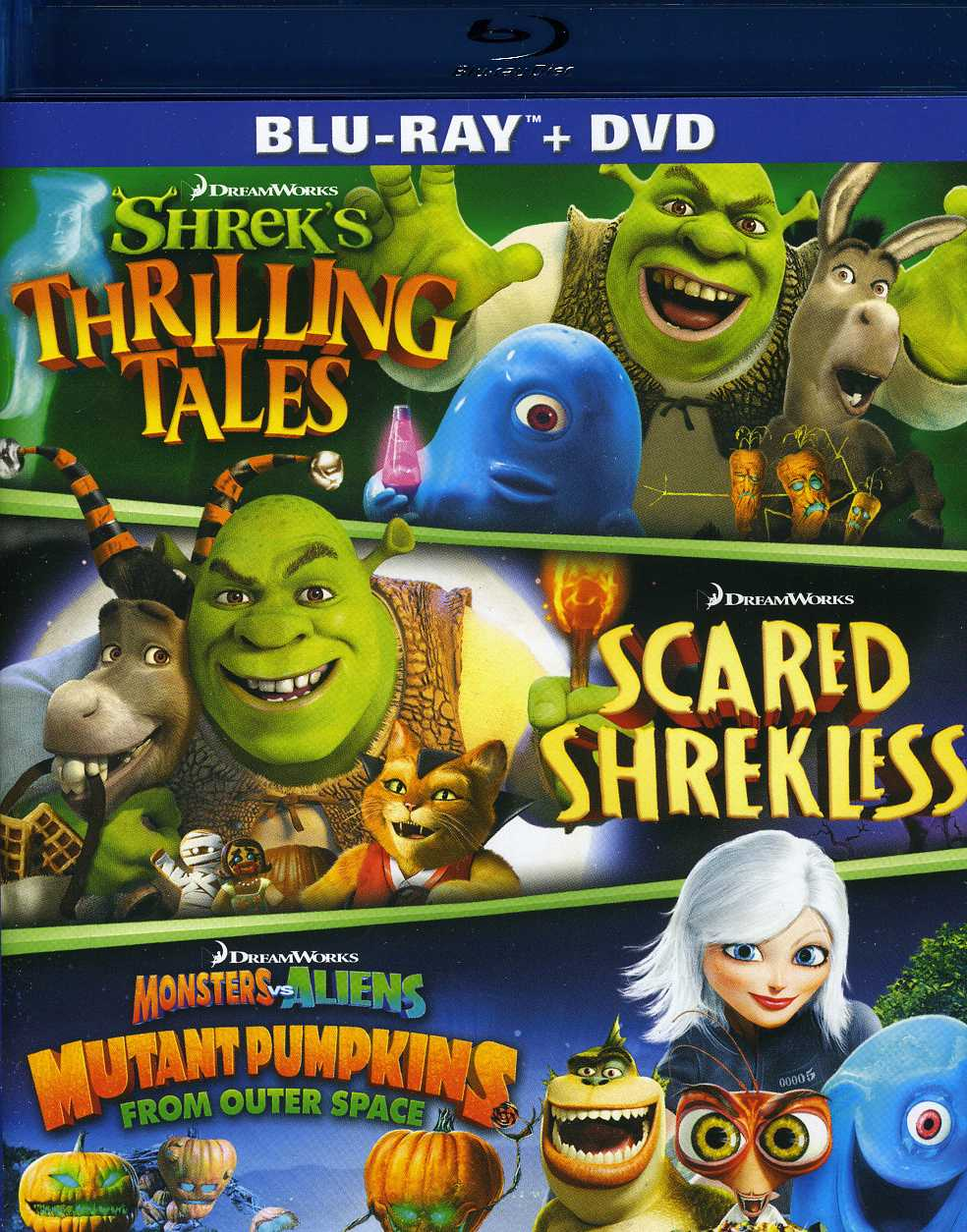 Dreamworks Spooky Stories (Blu-ray Disc)