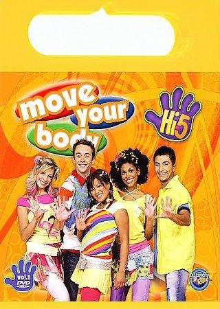Hi-5: Move Your Body (Vol. 1) (DVD)