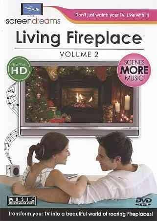 Screen Dreams: Living Fireplace Vol 2 (DVD) - Thumbnail 0