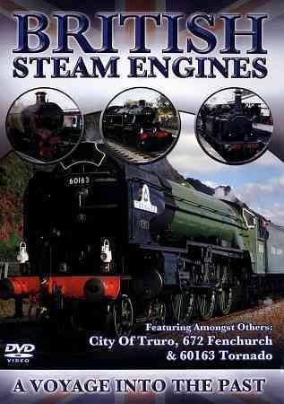 British Steam Engines: City of Truro & More (DVD)