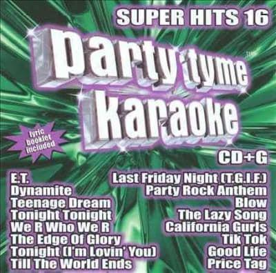 Various - Party Tyme Karaoke: Super Hits 16