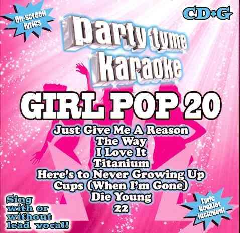 Various - Party Tyme Karaoke: Girl Pop 20