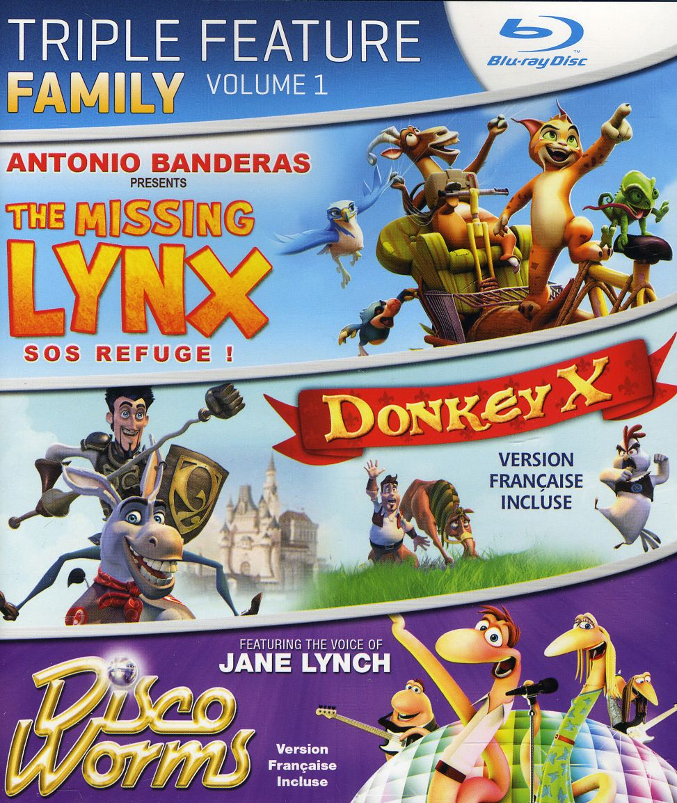 Family Triple Feature Volume 1 (Blu-ray Disc)