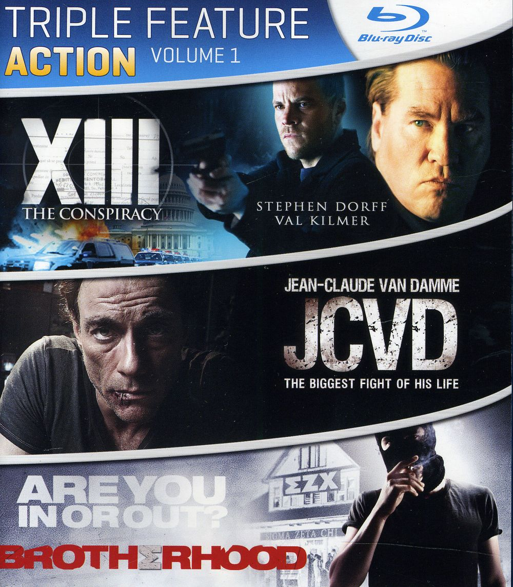 Action Triple Feature: Vol. 1 (Blu-ray Disc)