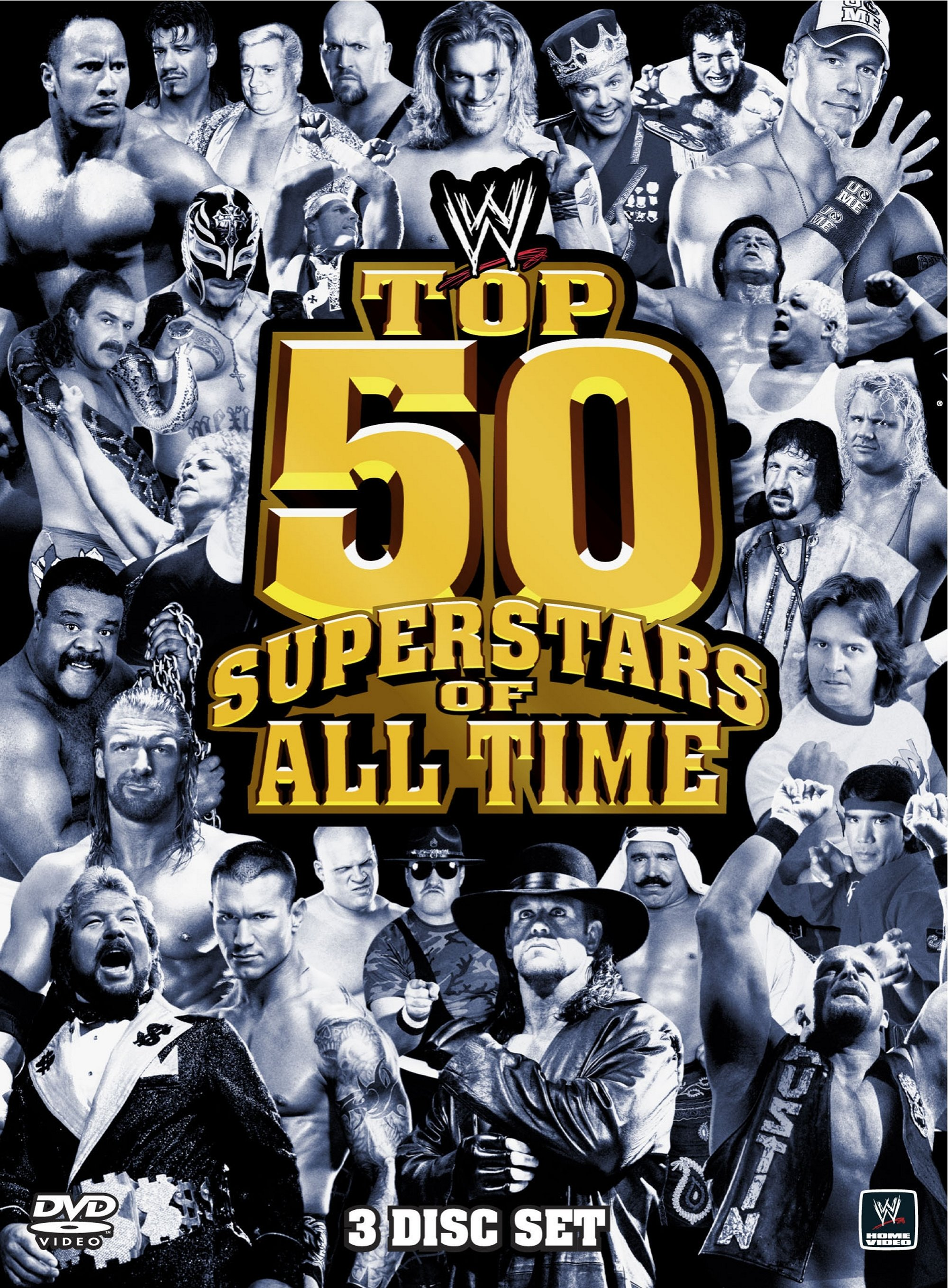 The Top 50 Superstars Of All Time (DVD)