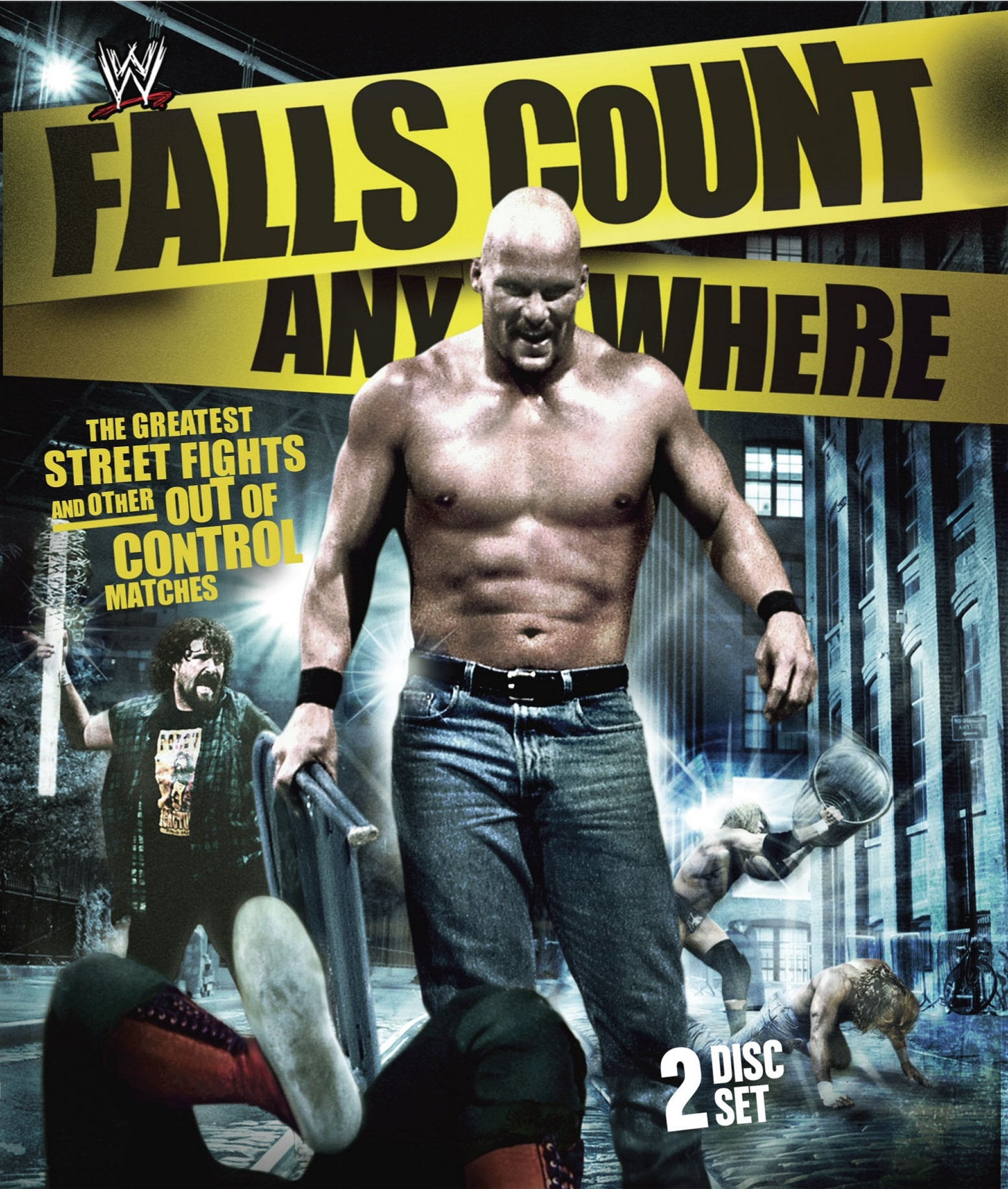 Falls Count Anywhere Matches (Blu-ray Disc)