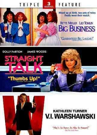 Big Business/Straight Talk/V.I. Warshawski (DVD)
