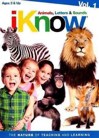 iKnow: Animals, Letters & Sounds- Vol 1 (DVD)