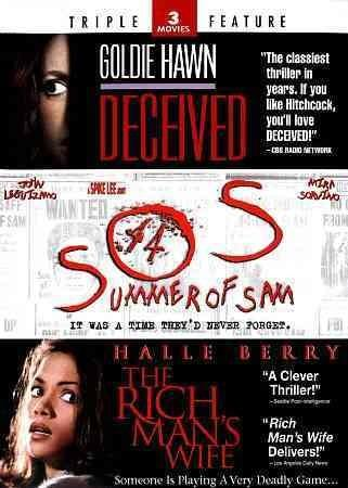 Deceived/The Rich Man's Wife/Summer of Sam (DVD)
