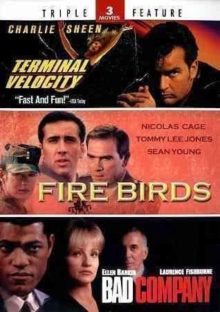 Terminal Velocity/Fire Birds/Bad Company (DVD)