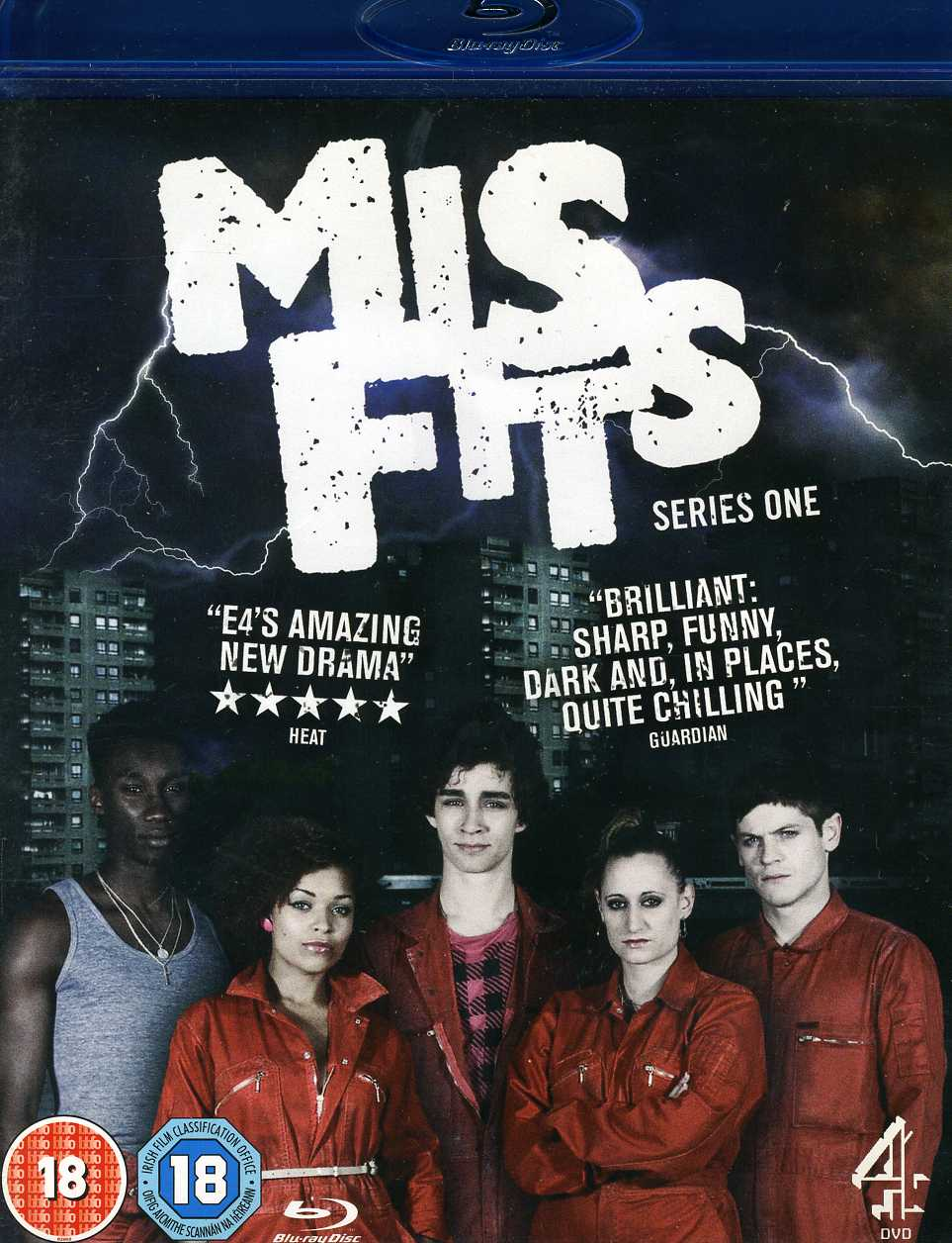 Misfits: Series One (Blu-ray Disc)