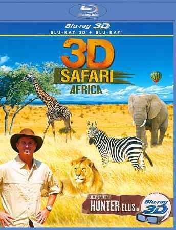 3D Safari Africa (Blu-ray Disc)