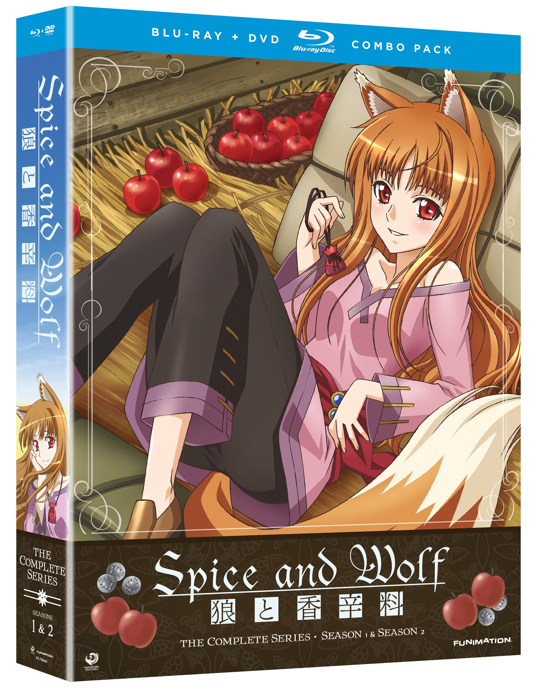 Spice and Wolf: Complete Series (DVD)