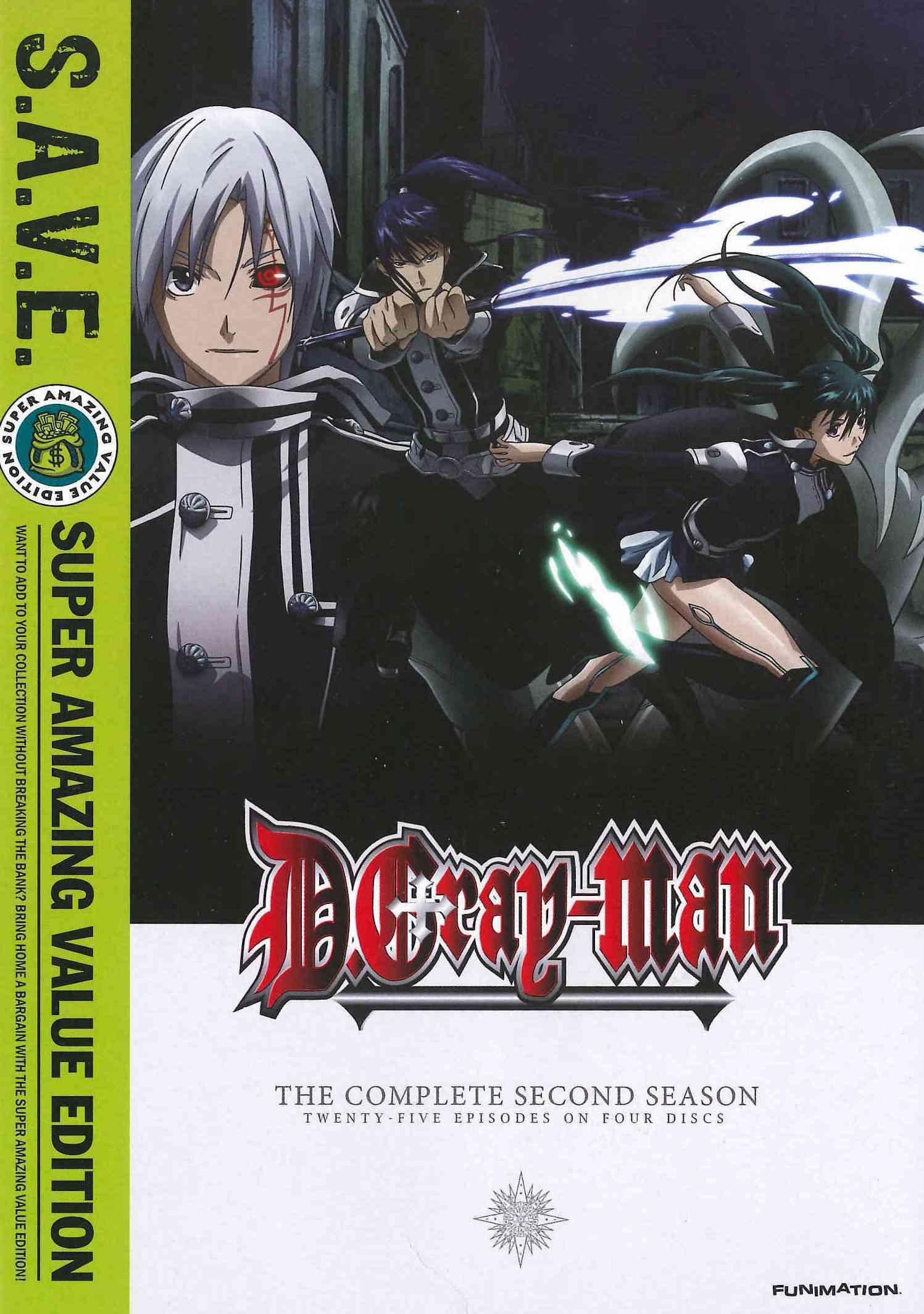 D. Gray-Man: Season 2 (S.A.V.E.) (DVD)