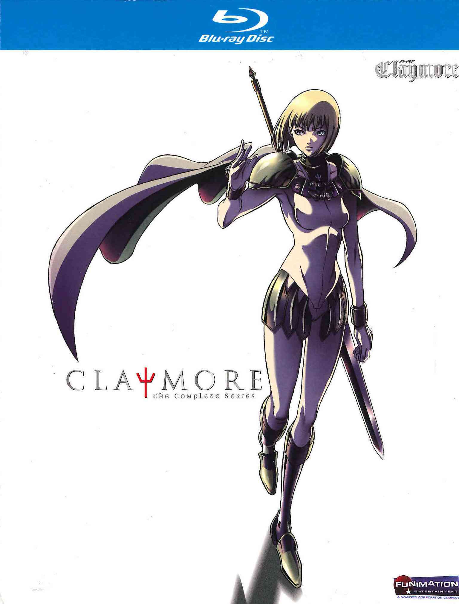 Claymore: The Complete Collection (Blu-ray Disc)