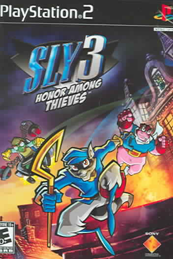 PS2 - Sly 3: Honor Among Thieves