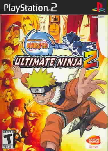 PS2 - Naruto Ultimate Ninja 2