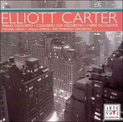 Ursula Oppens - Carter: Orchestral Works