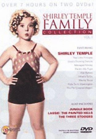 Shirley Temple Family Collection (DVD)