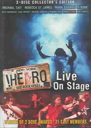 Hero, The Rock Opera Live On Stage (DVD)